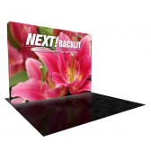 10' Next! Backlit SEG Fabric Lightbox Display