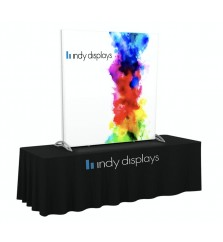 5' x 5' SEG Fabric Backlit Tabletop Display