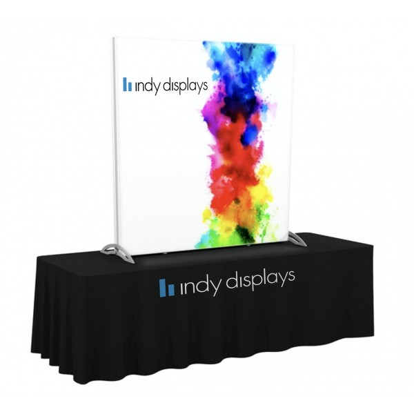 Charmant 5u0027 X 5u0027 SEG Fabric Backlit Tabletop Display