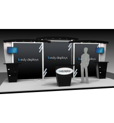 XRline 20' Modular Display Booth 1.6