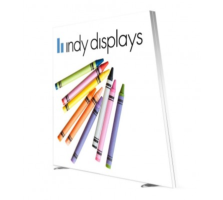 9ft Slant LED Lightbox Display
