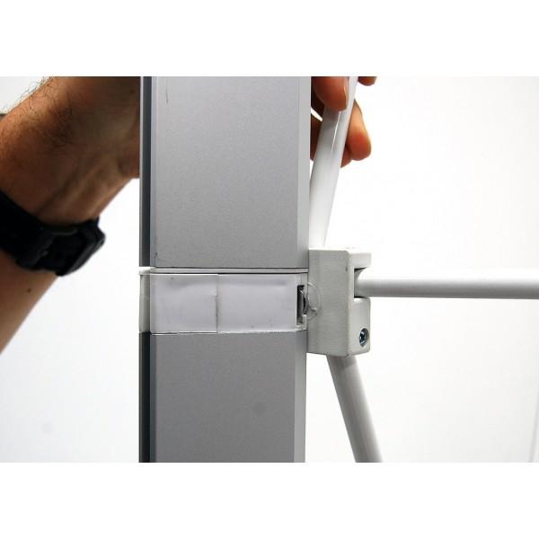 10ft Backlit Seg Fabric Light Box Pop Up Display