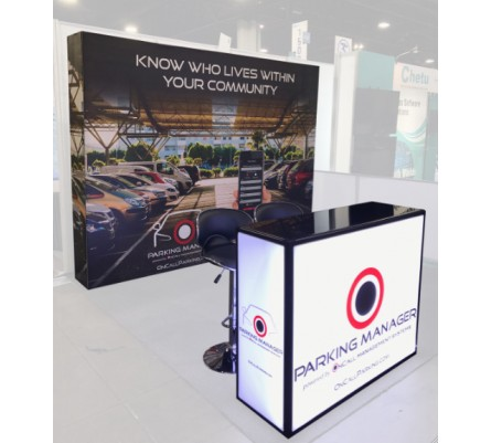 10' x 10' SEG Hybrid Pop Up Display Package