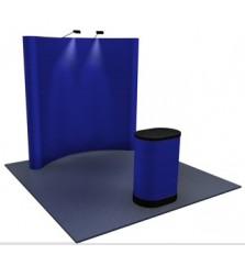 Premium 8x8 Fabric Popup