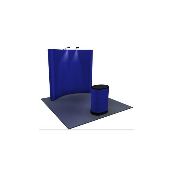 Lifetime 8ft Folding Table Premium 8x8 (8ft) Fabric Pop Up Display