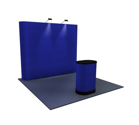 Premium 8x10 (10ft) Flat Fabric Pop Up