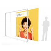 8ft LightenUp Tool-Free Fabric Backlit Display