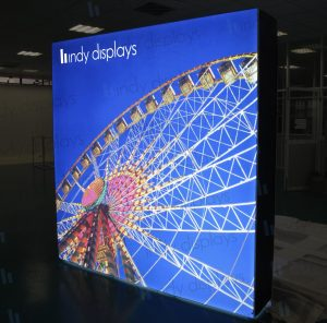 Portable LED Pop Up Backlit Display Enhancement