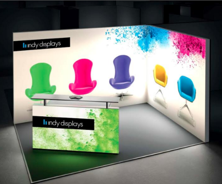 Fabric Exhibition Stand Goals : Led backlit displays top exhibiting trend 2 years strong indy