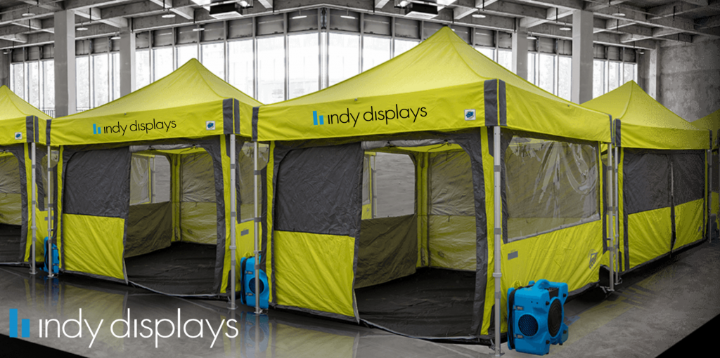 Coronavirus Emergency Medical Care Tents
