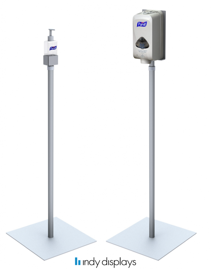 COVID-19 Hand Sanitizer Stands