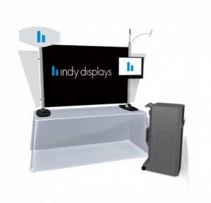 Simple Modular Table Top Display Option - Exhibit Line