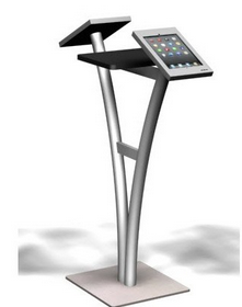 One of many Exhibitline ipad Kiosk units