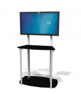 Simple yet effective Exhibitline Monitor Stand