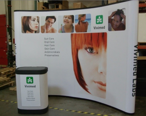10ft Popup Display