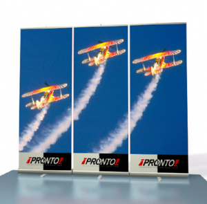 Pronto Retractable Banners Backwall Kit