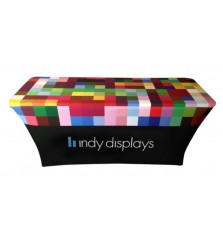 Stretch Table Covers Trade Show