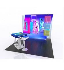 backlit trade show displays indydisplays