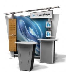 Expo Display Stands : Trade show displays indydisplays