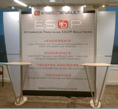 10ft exhibitline display
