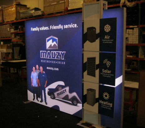 10 x 10 eSmart Hybrid Lightbox Displays