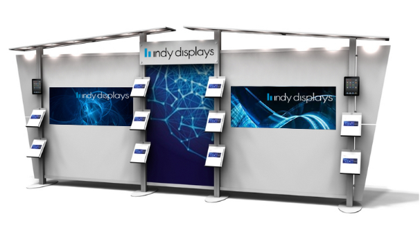 10' x 20' Modular Trade Show Display