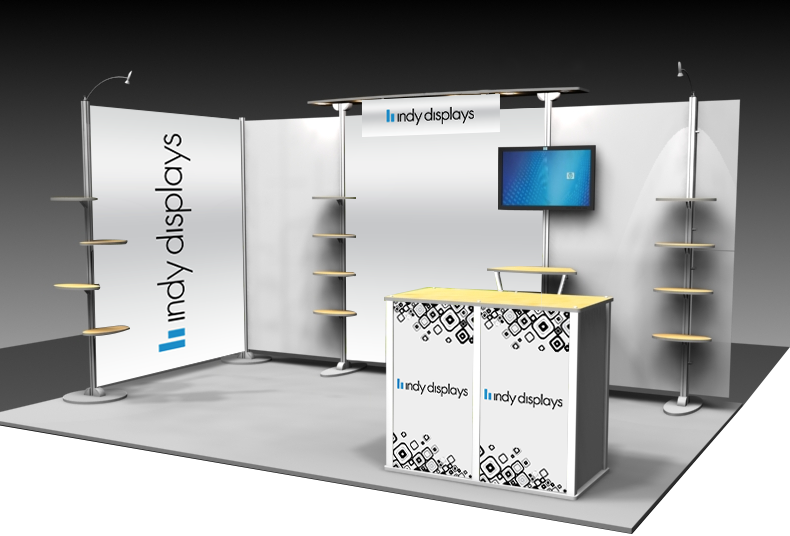 custom display booth solutions