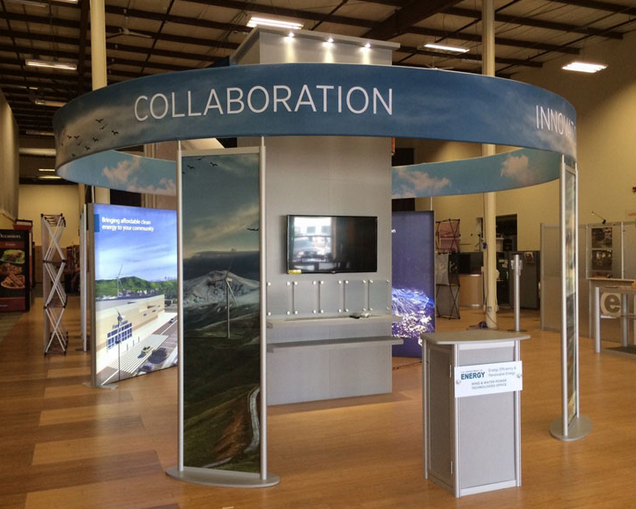 20' x 20' Large Trade Show Displays