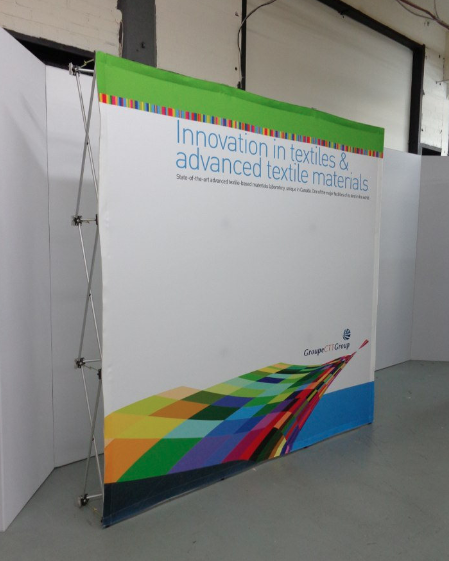 8x8 8ft Tension Fabric Popup Display