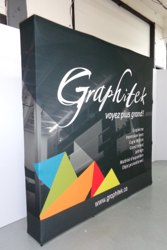 tension fabric popup displays