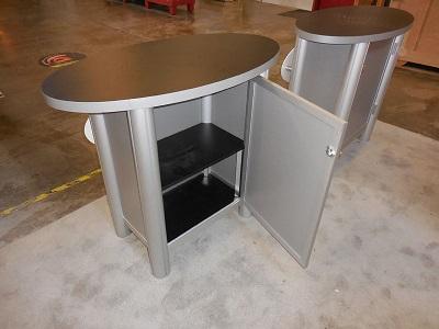 Segue Hybrid Backlit Counter Storage