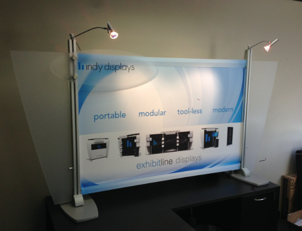 exhibitline custom modular micro table top display