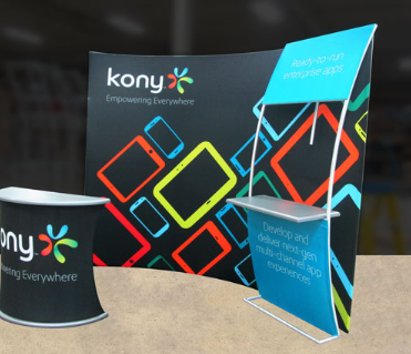 formulate trade show display kony