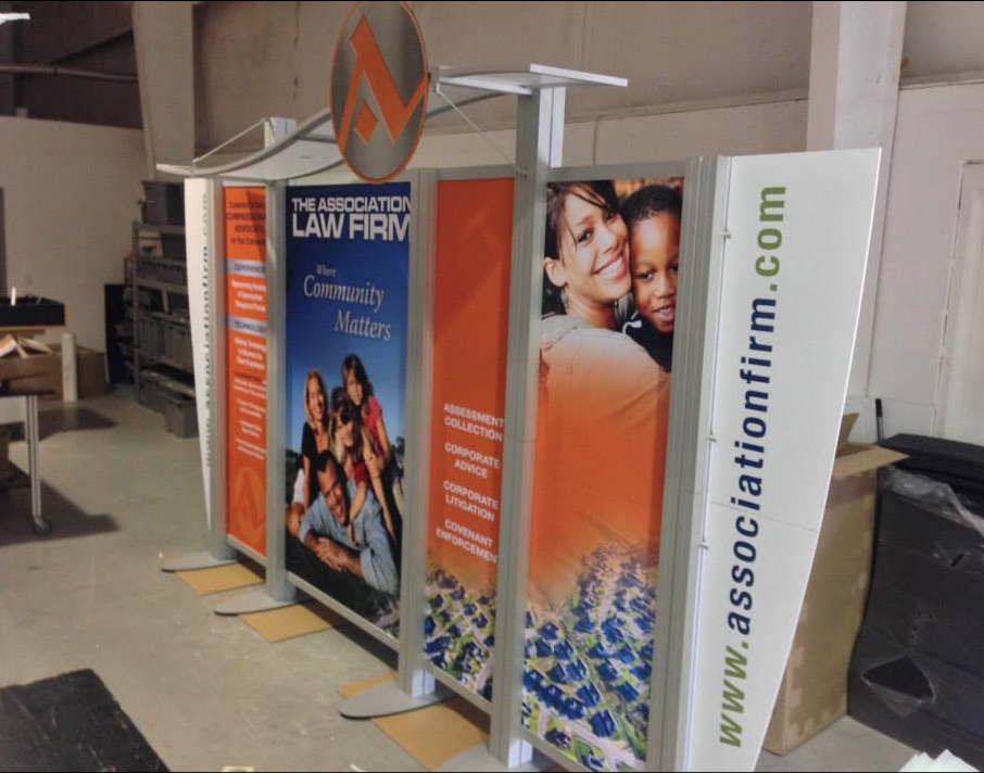 10' x 15' Custom XRline Modular SEG Fabric Display