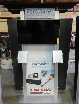 portable trade show kiosks