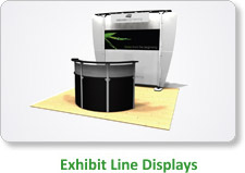 Exhibit Line Displays