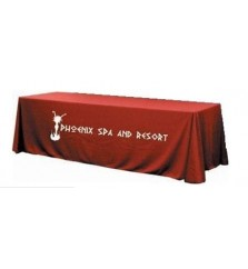 6ft Full Table Cover with Perma Logo