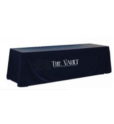 8ft Full Table Cover with Perma Logo