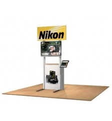 Euro Billboard Style Portable Kiosk