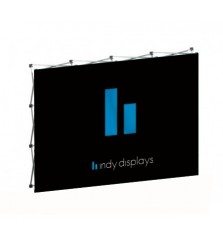 8x10 (10ft) Tension Fabric Popup Display
