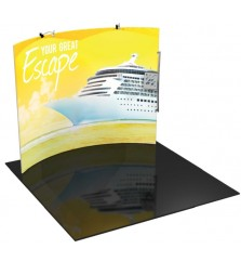 Formulate 10ft H3 Tension Fabric Display