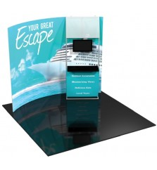Formulate 10ft H6 Tension Fabric Display