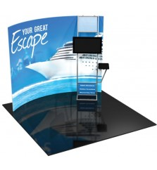 Formulate 10ft H8 Tension Fabric Display