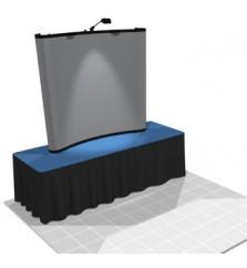 Nomadic 6ft (2x2) Pop Up Table Top Display Rental
