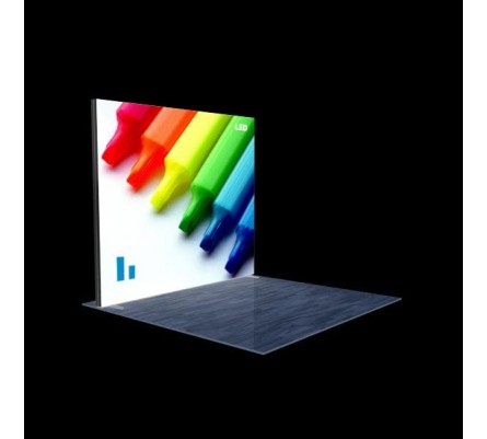 "120"" x 96"" (10ft) Modular Lightbox Display"