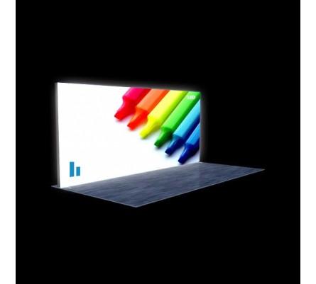 "240"" x 96"" (20ft) Modular Lightbox Display"