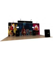 Waveline 20' Media Display Straight Header Kit B