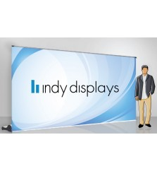 """96"""" Colosal Retractable Banner Stand 8ft Wide"""