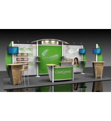 10' x 20' XVline Custom Modular Hybrid Display xv.7