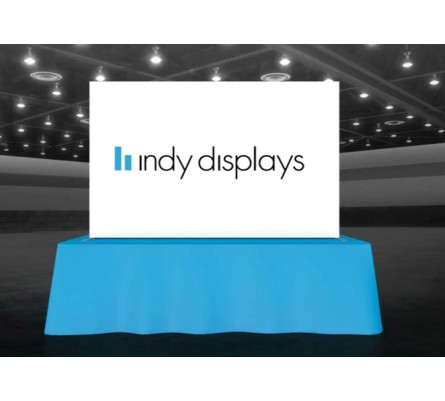 8ft Backlit Table Top LED Modular Display
